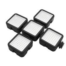 W49 Mini Camera LED Video Light Shoe Mount Adapter for Sony Canon DSLR DV nice