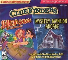 ClueFinders Search Solve & Mystery Mansion Jewel Case - PC/Mac
