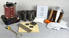 1 Kg Gold Melting Furnace Deluxe Starting Kit Melt Gold and Silver Pouring Kit