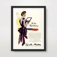 1950s VINTAGE FASHION ILLUSTRATION ART PRINT POSTER Wall Advertisement Advert