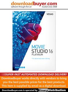 MAGIX VEGAS Movie Studio 16 Platinum - [Download]