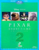 PIXAR SHORT FILMS COLLECTION, VOL. 2 NEW BLU-RAY/DVD