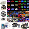 5M 10M SMD 3528 5050 5630 300LEDs RGB White LED Strip Light 12V Power Supply