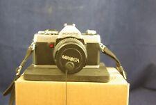 Minolta XG1 with Minolta MD Rokkor-X 50mm F1.7