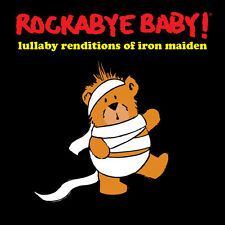 Lullaby Renditions Of Iron Maiden - Rockabye Baby (2016, CD NEUF)