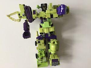 Transformers G1 1985 DEVASTATOR combiner figure hasbro takara
