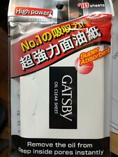 1 x Gatsby Oil Clear Sheet High power, super absorbent ( Film) 70 sheets