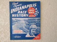 1947 Indianapolis Indy 500 auto race History yearbook Clymer Mauri Rose Offy win
