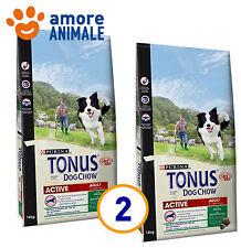 2 SACCHI - Purina Tonus Active Pollo 14 Kg - Crocchette per cane adulto