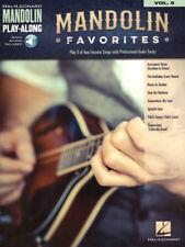 Mandoline Mandolin Play-Along #8 - Favorites Songbook Noten Tab m. Download Code