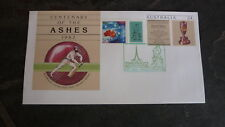 AUSTRALIAN PHILATELIC COVER, 2002 MELBOURNE STAMP SHOW CRICKET P STAMP ASHES PSE