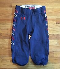 New Under Armour Auburn Tiger Game Pants Football Men's M Navy Orange White