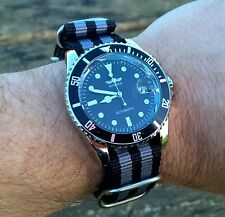 Connery 007 Bond automatic Submariner diver military style watch