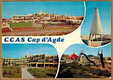 Cpsm / Cpm Cap d'Agde - village de vacances CCAS wn0387