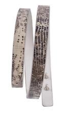 Agnona Correa 80 -  Piel de serpiente Cuero  88,5 cm x 1.5 cm