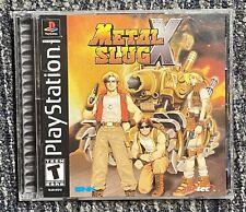 Metal Slug X Playstation 1 PS1 Black Label Complete Original Authentic MINT!