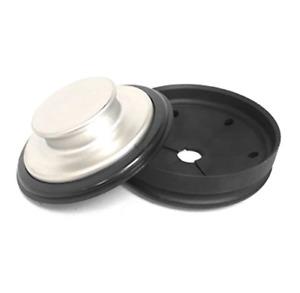 Garbage Disposal Splash Guard / Sink Baffle AND BONUS Stainless Sink Stopper, Fi