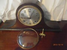 Antique Sessions Clock Mantle Bellair Made U.S.A. 8 Day Has Key