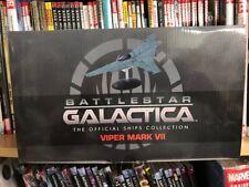 BATTLESTAR GALACTICA SHIPS MAGAZINE 6 & DIECAST VIPER MARK VII EAGLEMOSS