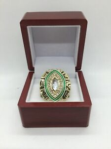 2010 Green Bay Packers Aaron Rodgers Super Bowl Custom MVP Ring Set with Box