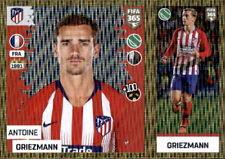 Panini FIFA365 2019 - Sticker 78 a/b - Antoine Griezman - Atlético de Madrid