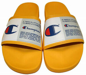 NWT Champion IPO Jock Gold Slide Sandals - Size 3 Youth or 5 Womens