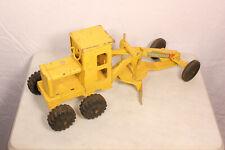 Vintage Marx Yellow Power Grader Steel Toy