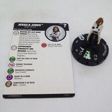 Heroclix Marvel's What If? set Jessica Jones #013 Common figure w/card!
