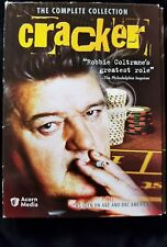 CRACKER THE COMPLETE COLLECTION ROBBIE COLTRANE DVD BOXSET- 10 disc set