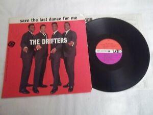 AUTOGRAPHED The Drifters Save The Last Dance For Me LP Atlantic 8059
