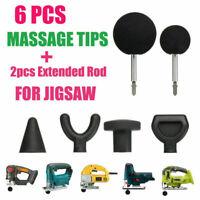 Percussion Massage 6pcs Tip Bit For Jigsaw Massager Adapter Attachment Worx
