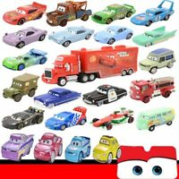 Disney Pixar Diecast Metal Cars1 Cars2 1:55 Frank Tracteur Mcqueen Sally Car Toy