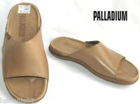 PALLADIUM - MULES CONFORTABLES TOUT CUIR MARRON CLAIR 37 - NEUVES & BOITE