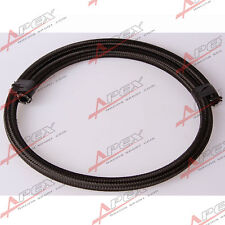 Black Nylon Cover Braided 1500 PSI -10AN AN10 Oil Fuel Gas Line Hose Foot