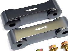VMS GUN METAL Hood Spacer Risers Set 90-01 Acura Integra 88-00 Honda Civic CRX
