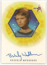 Star Trek 35th Anniversary TOS Autograph Card A12 Beverly Washburn Lt. Galway