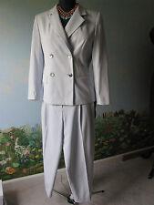 VALERIE STEVENS PETITES Blue Women Career Suit Size 8P
