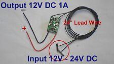 HO DC Power Supply Module 12V-24V Stepdown to 12V DC, N Z Scales Transformer DCC