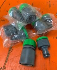 30 x Garden Water Hose Pipe Tap Plastic Connector Adaptor Fitting Universal