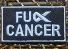 F#ck Cancer Patch Harley Davidson Biker Vest Patches Badge Iron Sew On