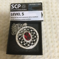 SCP963 Doctor Bright's Necklace Cosplay Horcrux Gift Card Accessories Props