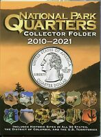 Coin Folder - National Park Quarters 2010 - 2021 America the Beautiful ATB Set