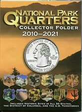 Coin Folder - National Park Quarters 2010 - 2021 America the Beautiful ATB - New