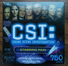CSI 750 Pieces Jigsaw Puzzle Stabbing Pain  New in Box NIB