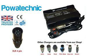 36V 42V 5A 4 pin Lithium Charger: Derby TranzX B-Twin Batribike BionX Vision BMZ