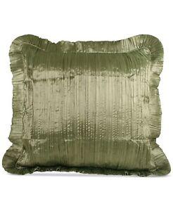 Croscill Home EURO Pillow Sham Iris GREEN J0Z221