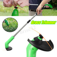 Cordless Grass Trimmer Cutter Mower Weed Lawn Cutting Garden Edging Ties Tool