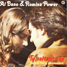 "Al Bano & Romina Power - Tu Soltanto Tu - Parigi E' Bella Com'E' - 7"" Single"