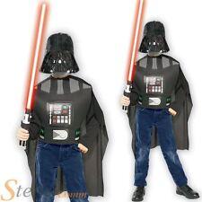 Boy's Darth Vader Star Wars Light Saber & Mask Set Halloween Fancy Dress Costume
