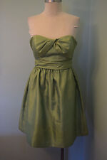 Jenny Yoo Collection 4 Cocktail Dress Apple Green Excellent pockets sweetheart
